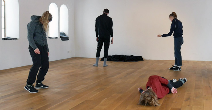 SITE samarbetar med MARC och koreografen Oskar Landström